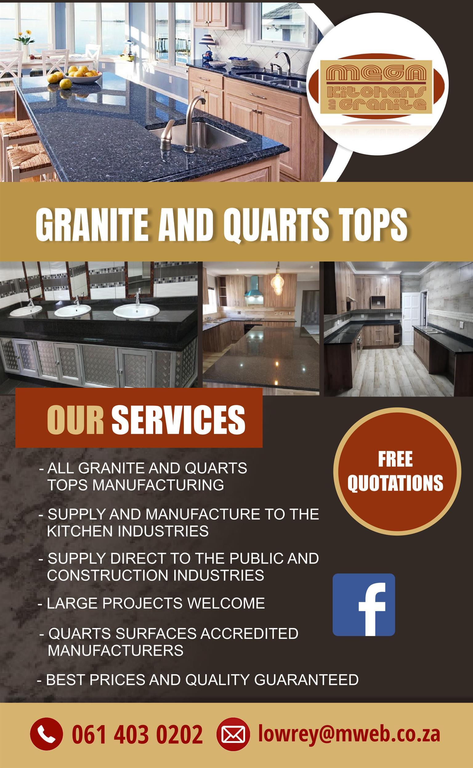 Mega Kitchen and Granite