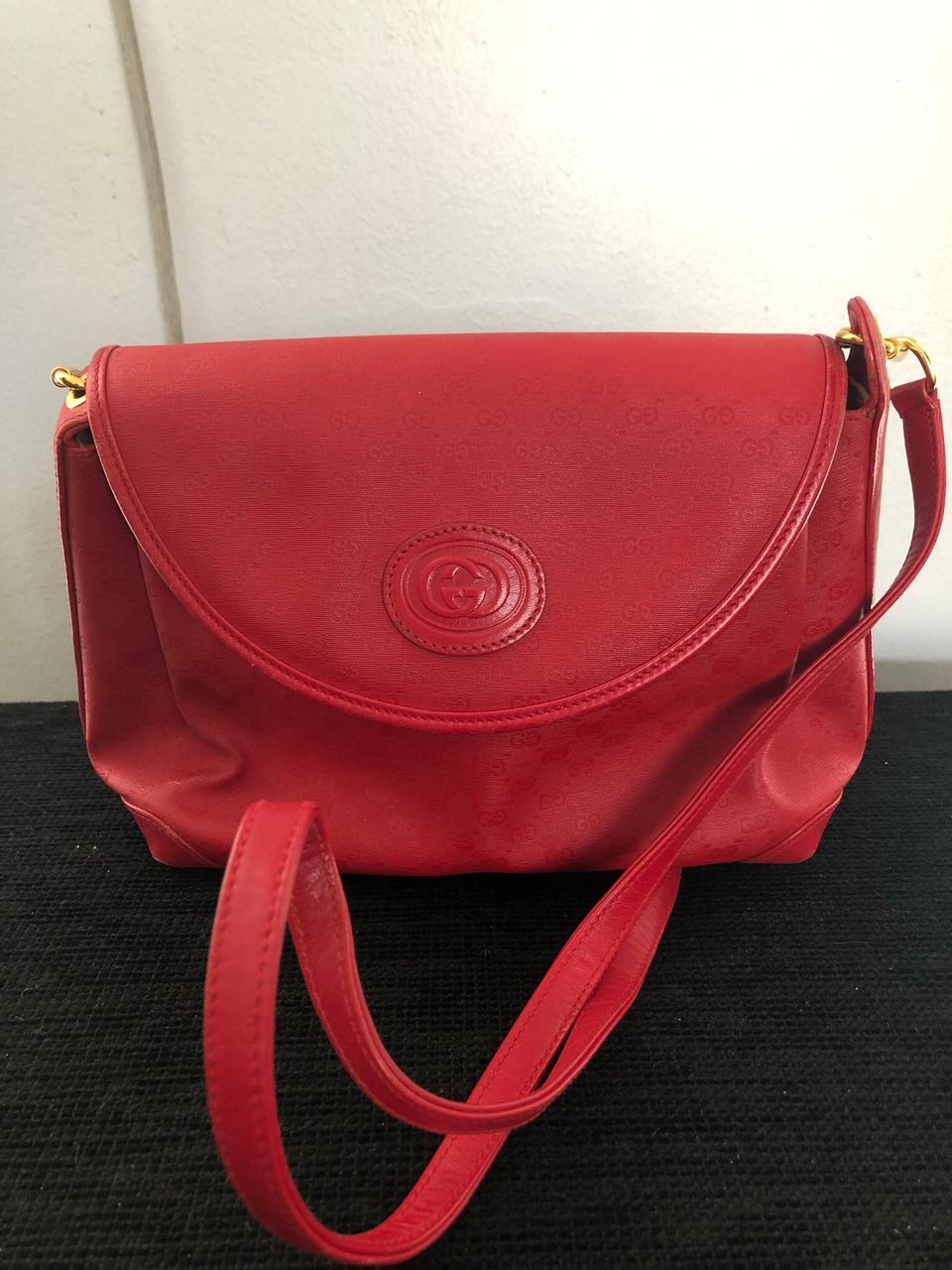 Authentic Gucci Red Bag
