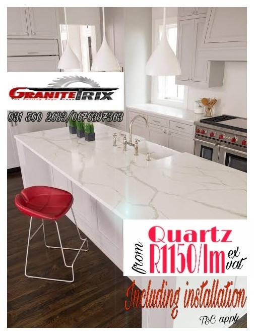 GRANITE TRIX PTY LTD (suppliers and installers) DURBAN