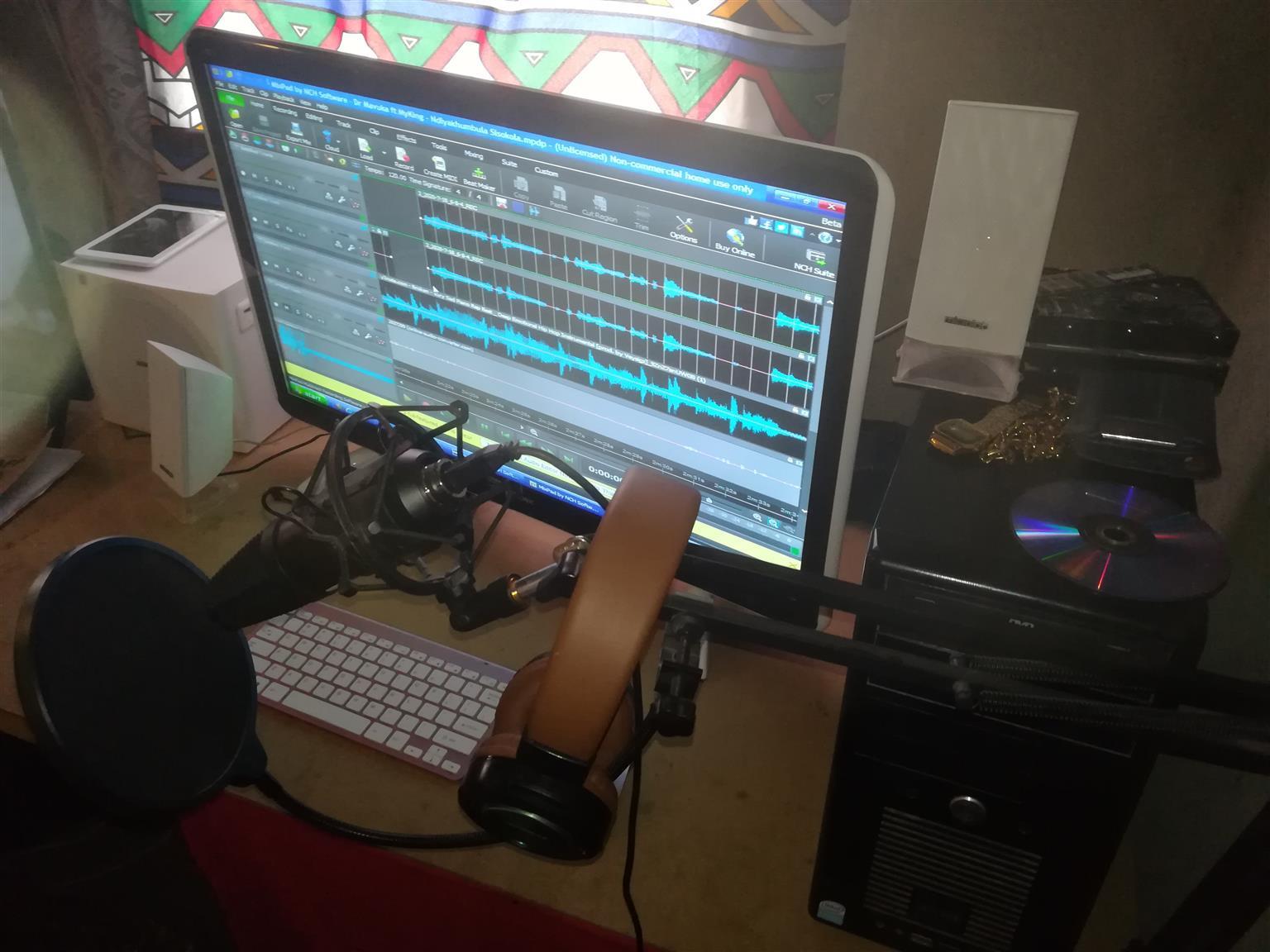 Complete Work Station & Recording Studio: