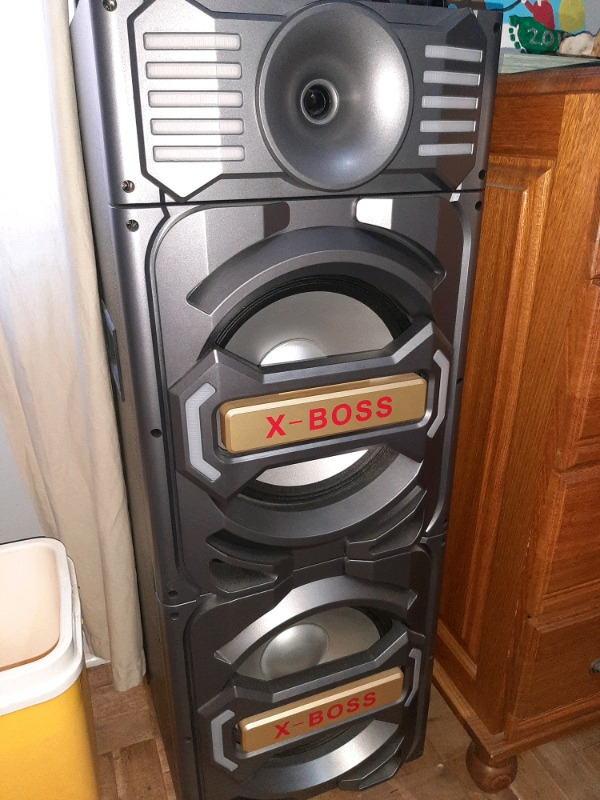 Ecco Xboss sound system.