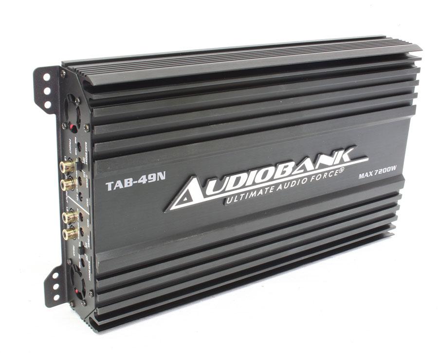 Audiobank 7200w 4channel Amplifier - 200w x 4 rms