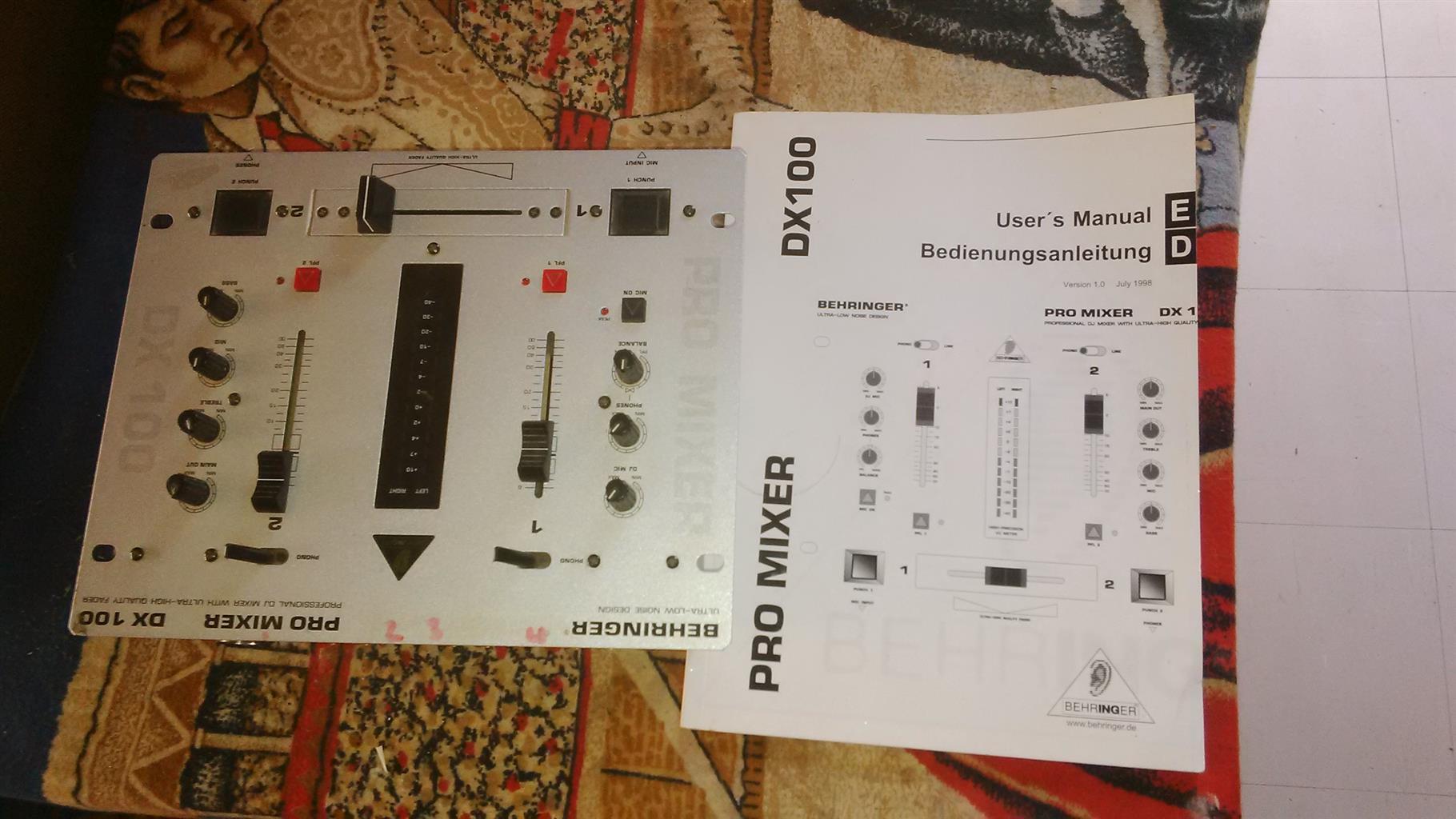 Beringher sound mixer