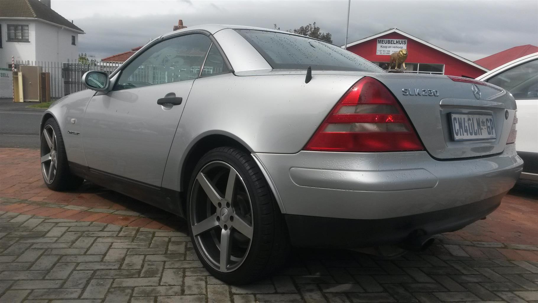 2002 Mercedes Benz 180B