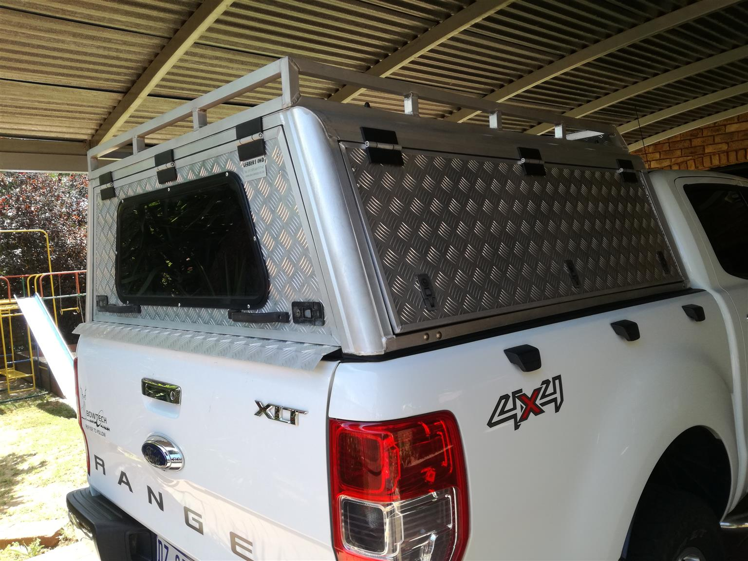 Gerber Aluminium Canopy (for Ford Ranger Double-cab T6)
