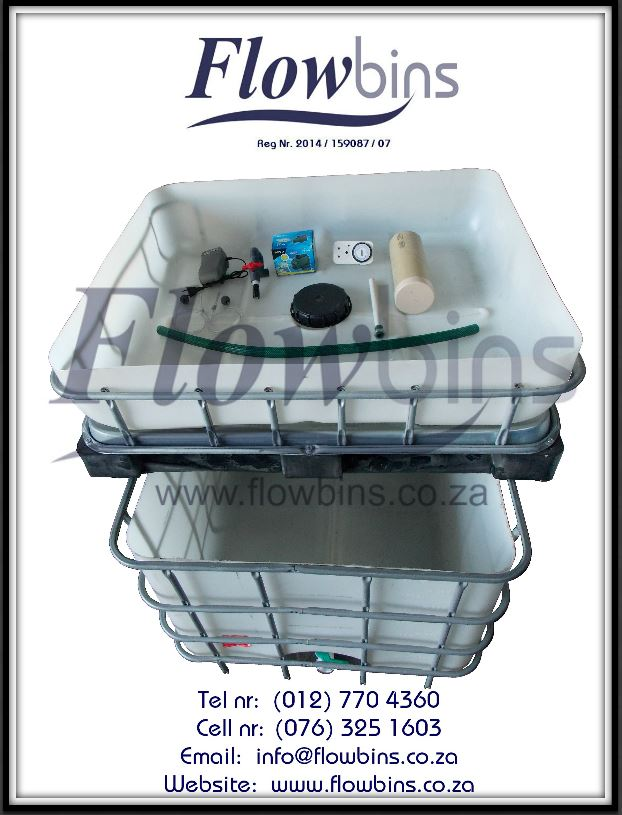 NEW Aquaponics complete starter kits - Growbed, Fish tank, Water and Air pump, Piping, Etc. from R2590