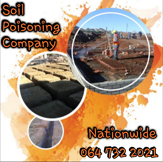 Parys Pre-Construction Soil Poisoning Treatments For Foundations - 064 732 2021 - Parys
