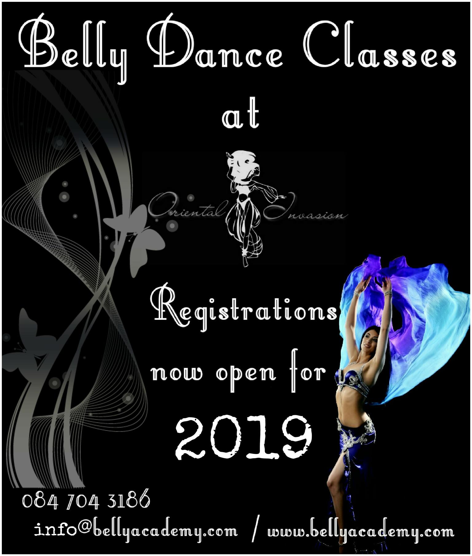 2019 Belly Dance Classes