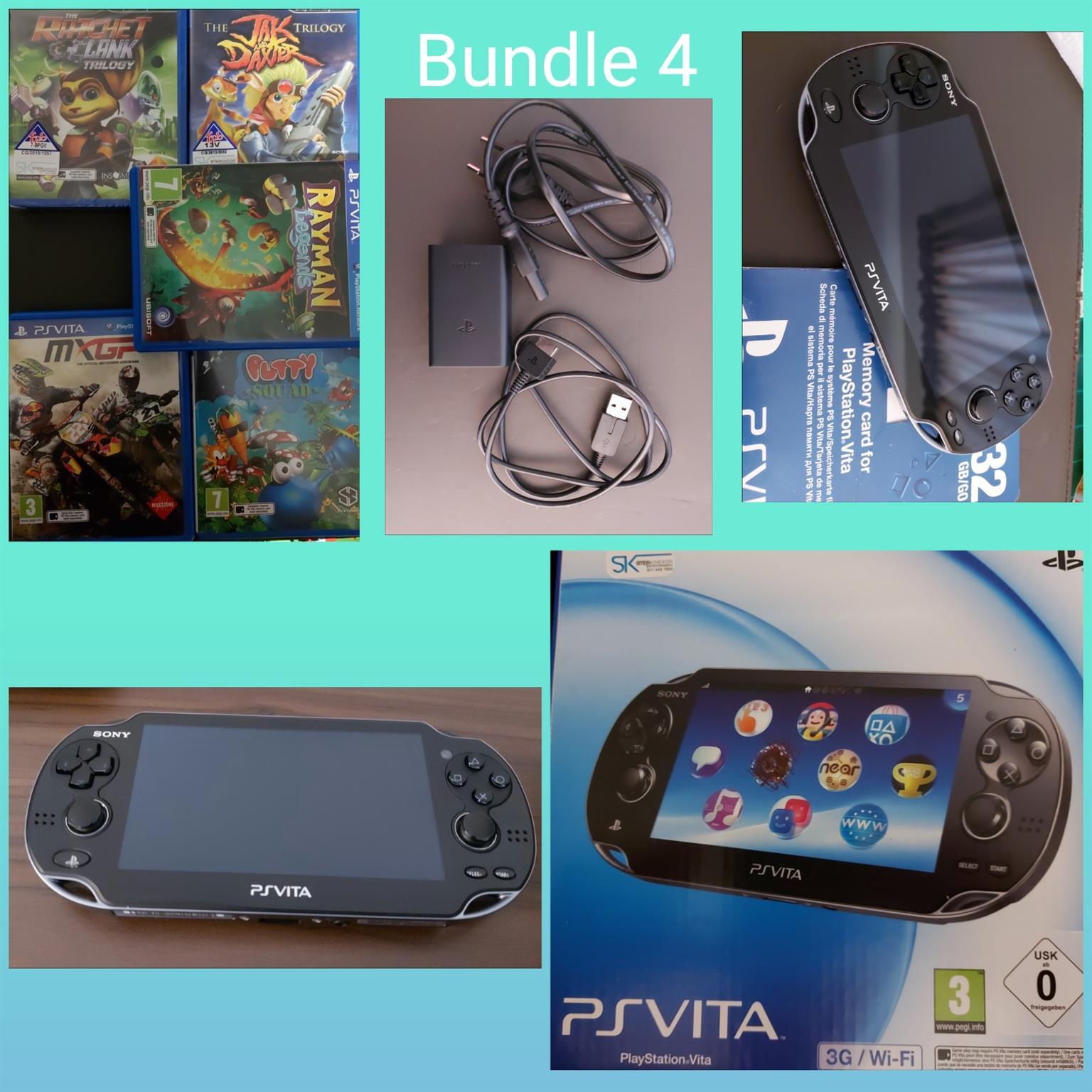 PS Vita with games bundle 4