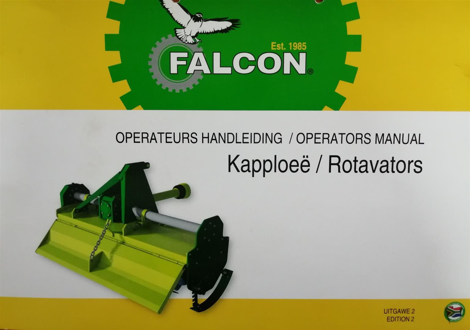 ROTOVATOR FALCON F150 HEAVY DUTY
