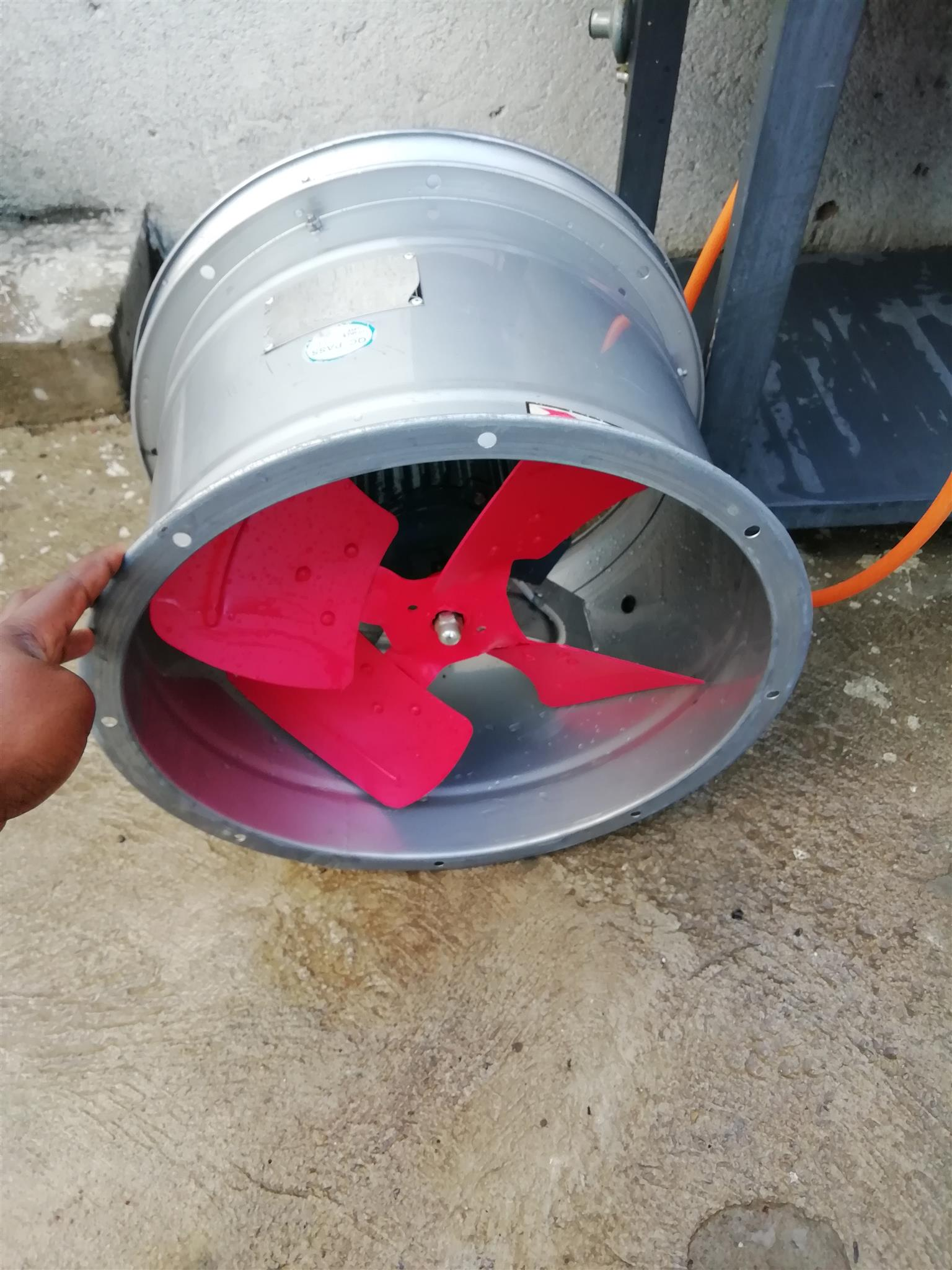 Axial Dust Fan