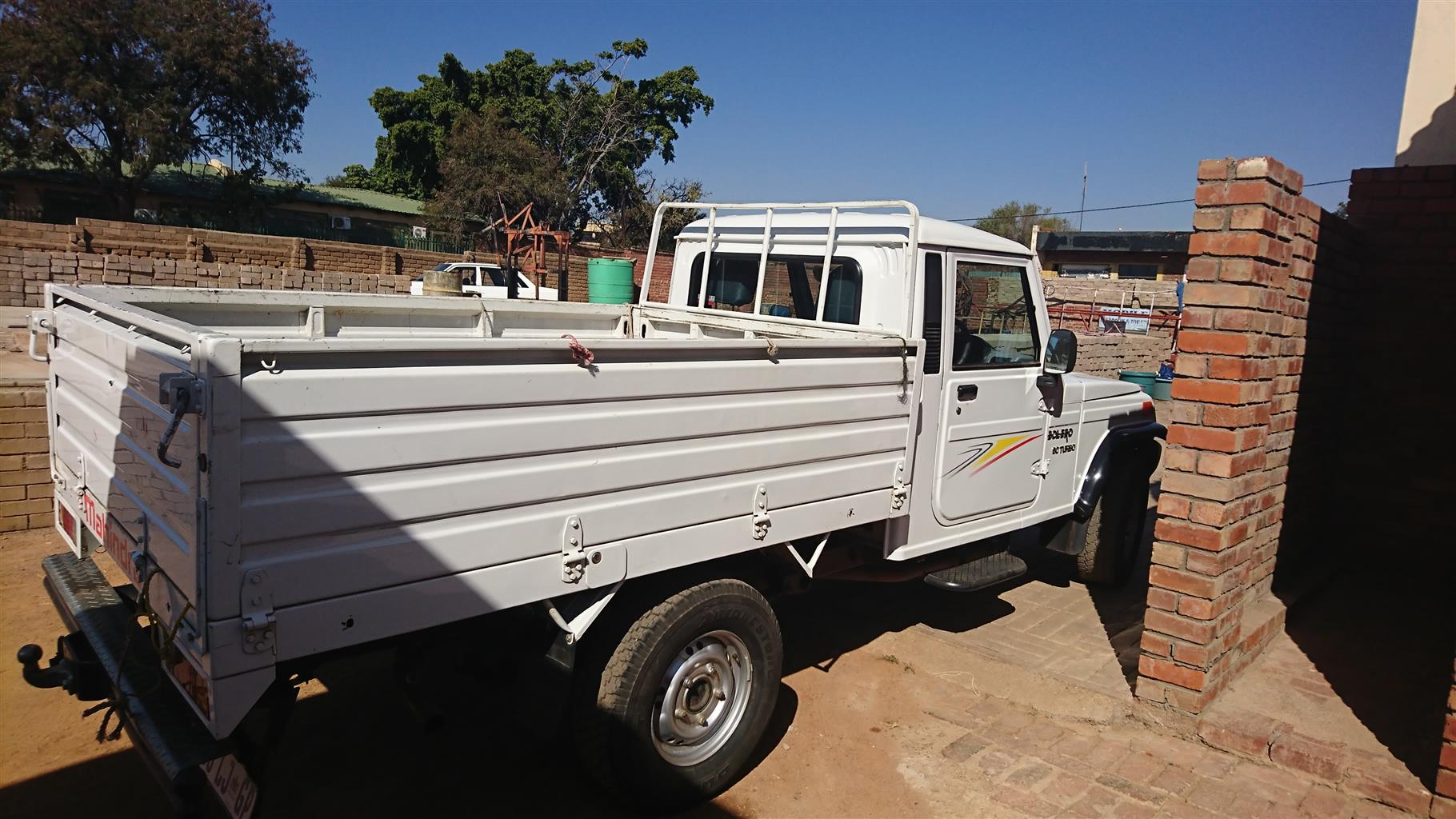 Do you need a delivery bakkie? We can assist you with a Mahindra Bolero to have your goods delivered in and around Pretoria.