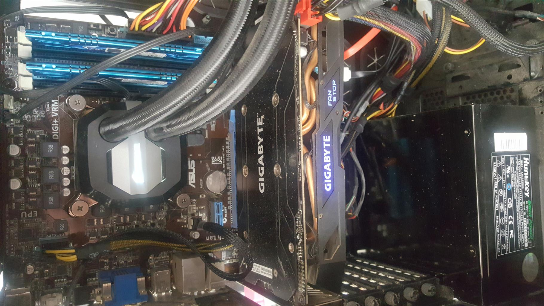 Gaming PC for Sale R6000 R4500 without GPU