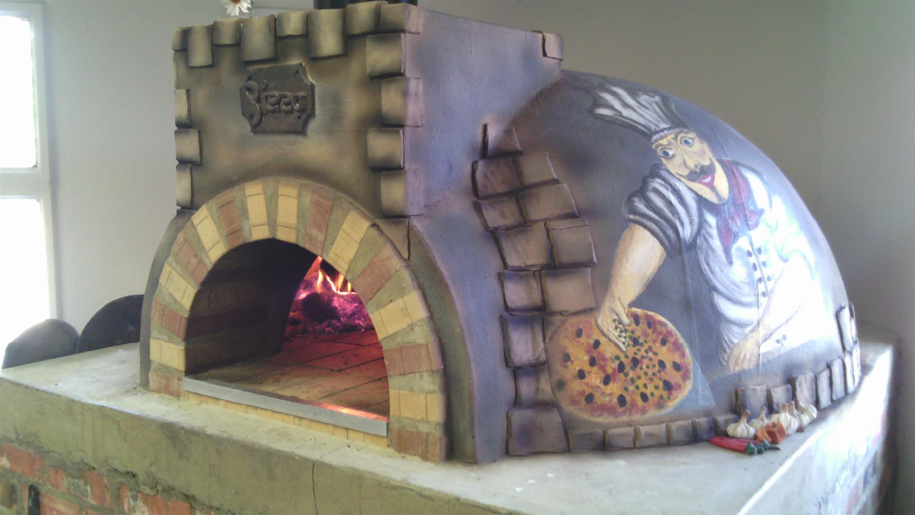 ITALIAN WOOD BURNING PIZZA OVENS