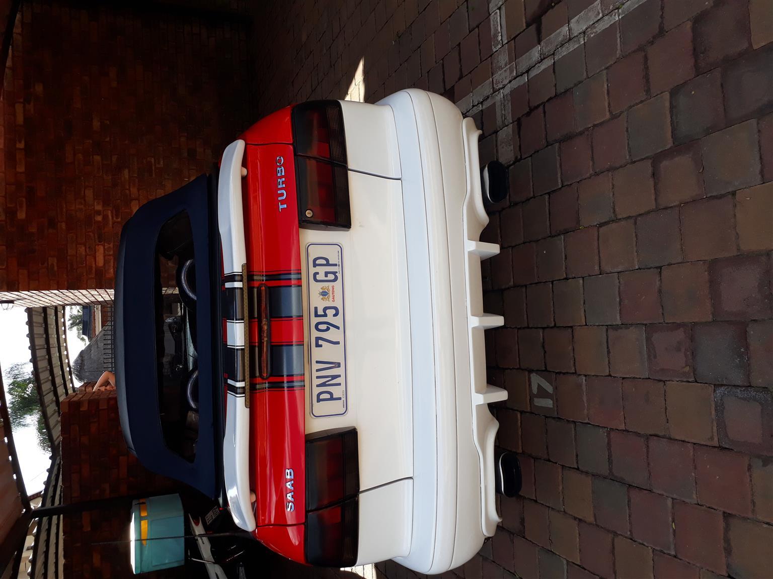 1996 Saab 9-3 convertible 2.0t Linear