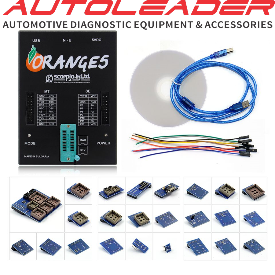 Orange5 Programmer with Full Adapter and Software