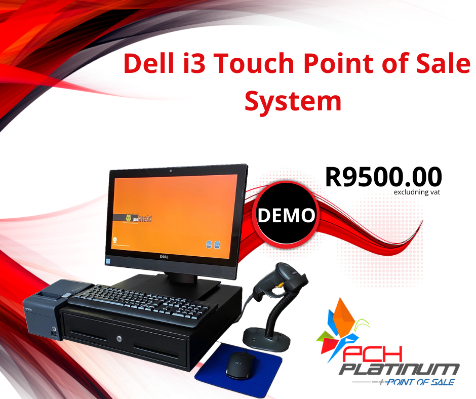 Dell Touch Screen i3 Point of Sale System
