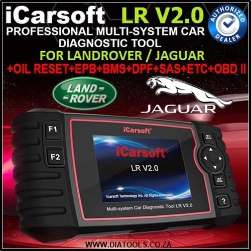 DIAGNOSTIC TOOL for Landrover / Jaguar: iCarsoft LR V2.0 for LandRover/Jaguar