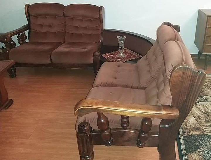 Magnificent Suede 2 X 2 Seater And 2 X Single Seaters For Sale Ibusinesslaw Wood Chair Design Ideas Ibusinesslaworg