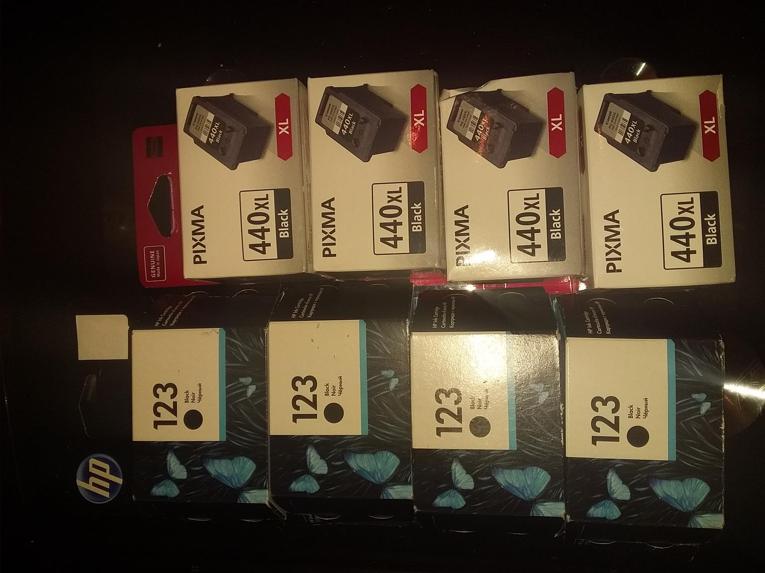 Ink catridges and toners in stock