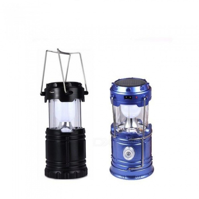 Solar Rechargeable Camping Light Expandable