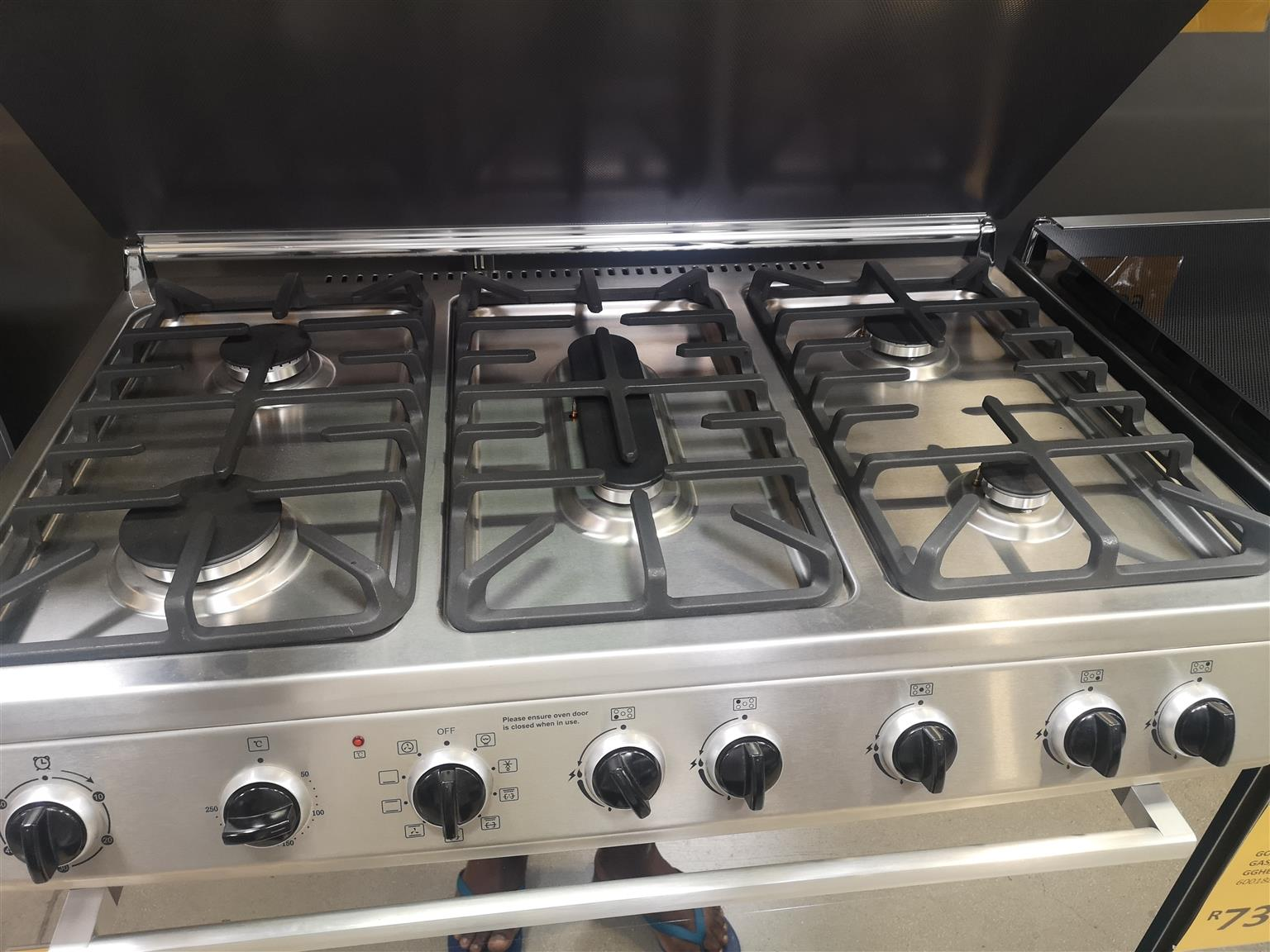 Stove(gas and electric)
