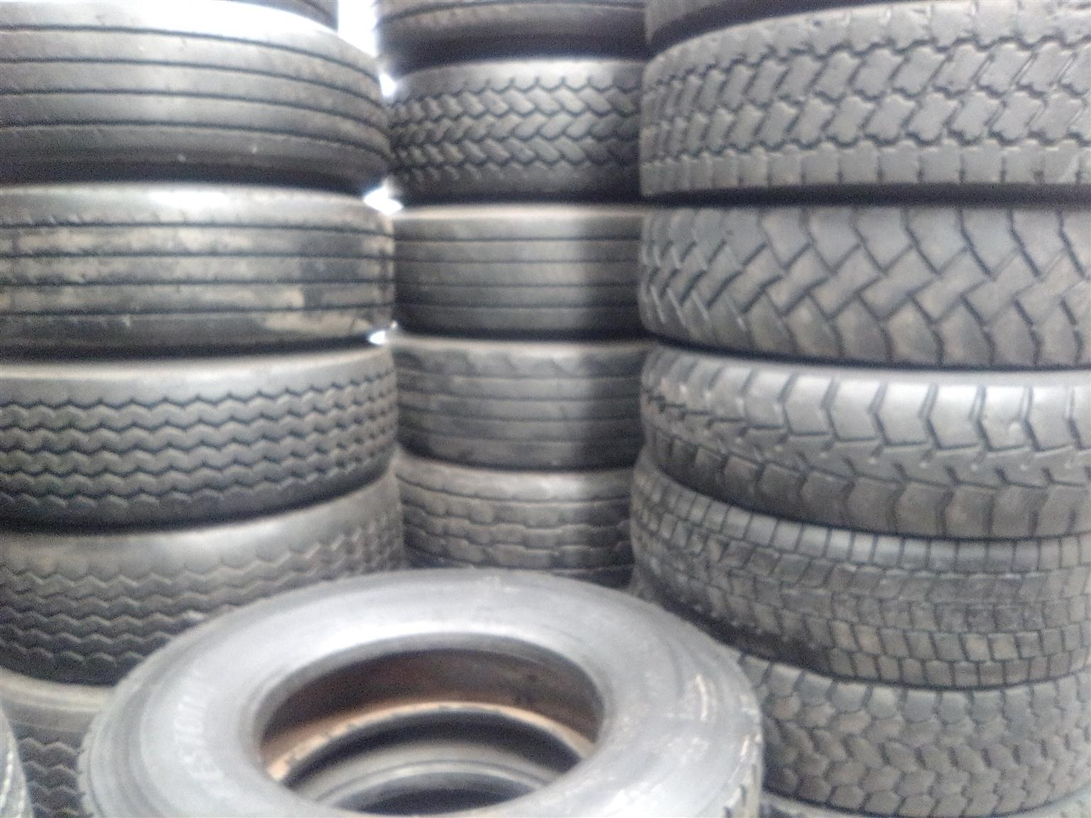 Good second hand truck tyres