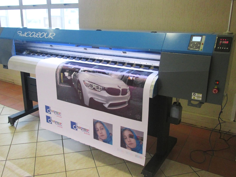 F-1867/AQUA/DX5 FastCOLOUR 1860mm EPSON® DX5 Printhead Large-Format Water Based Dye or