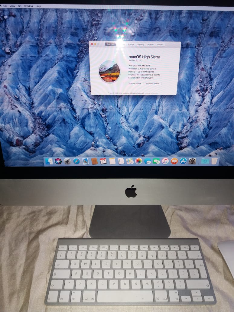 "iMac 21.5"" mid 2010"