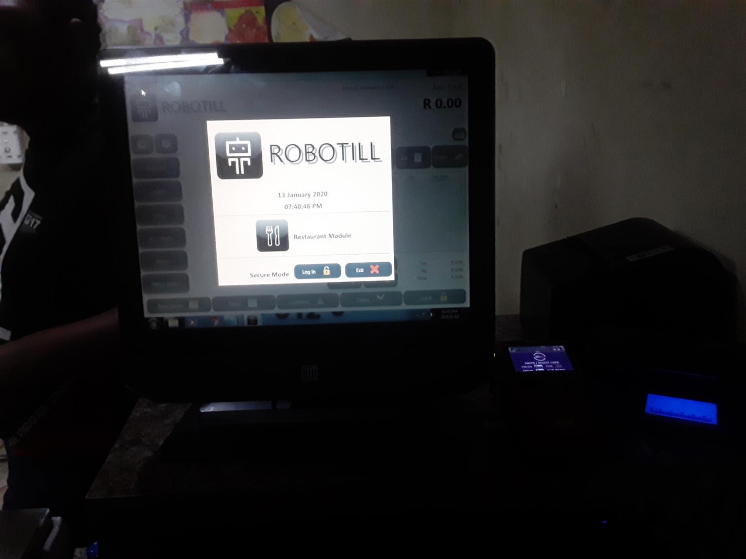 Robotill Software pos