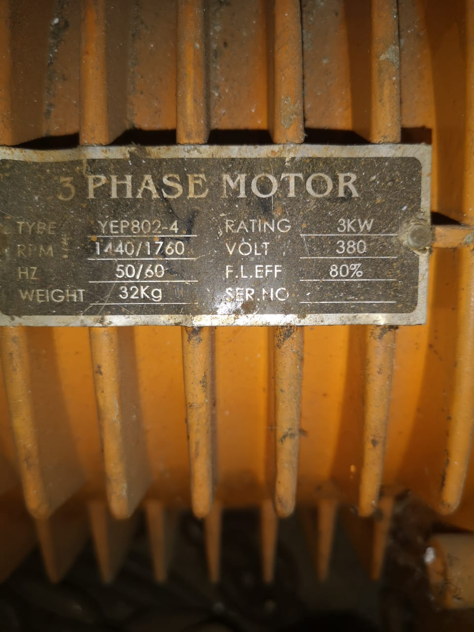 3 Ton, 3 Phase electric chain Hoist