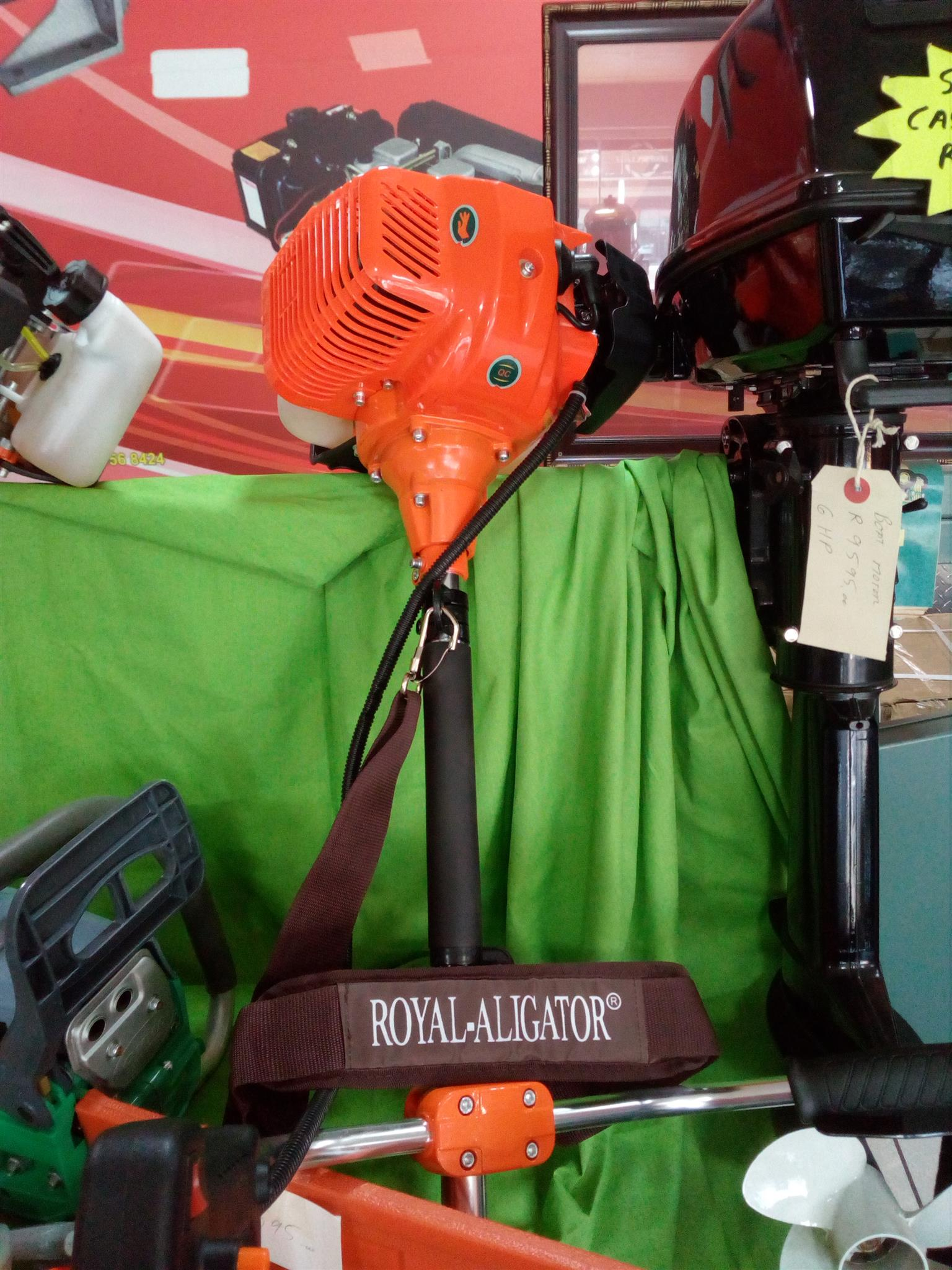 Brush cutter two stroke engine Price incl vat