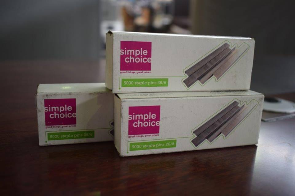 Simple choice staple pins for sale