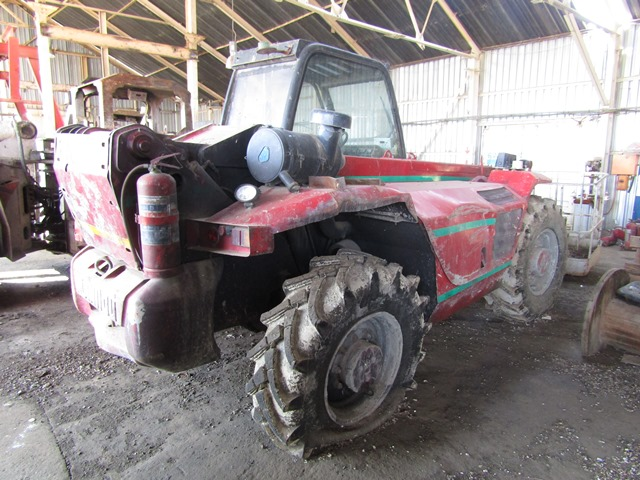 Manitou MT1240 Telescopic Forklift - ON AUCTION