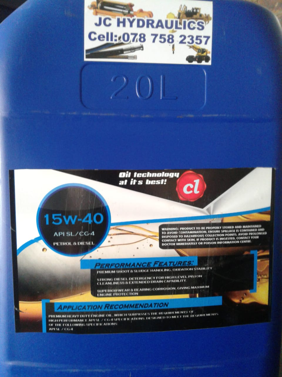 Diesel Oil 15W40