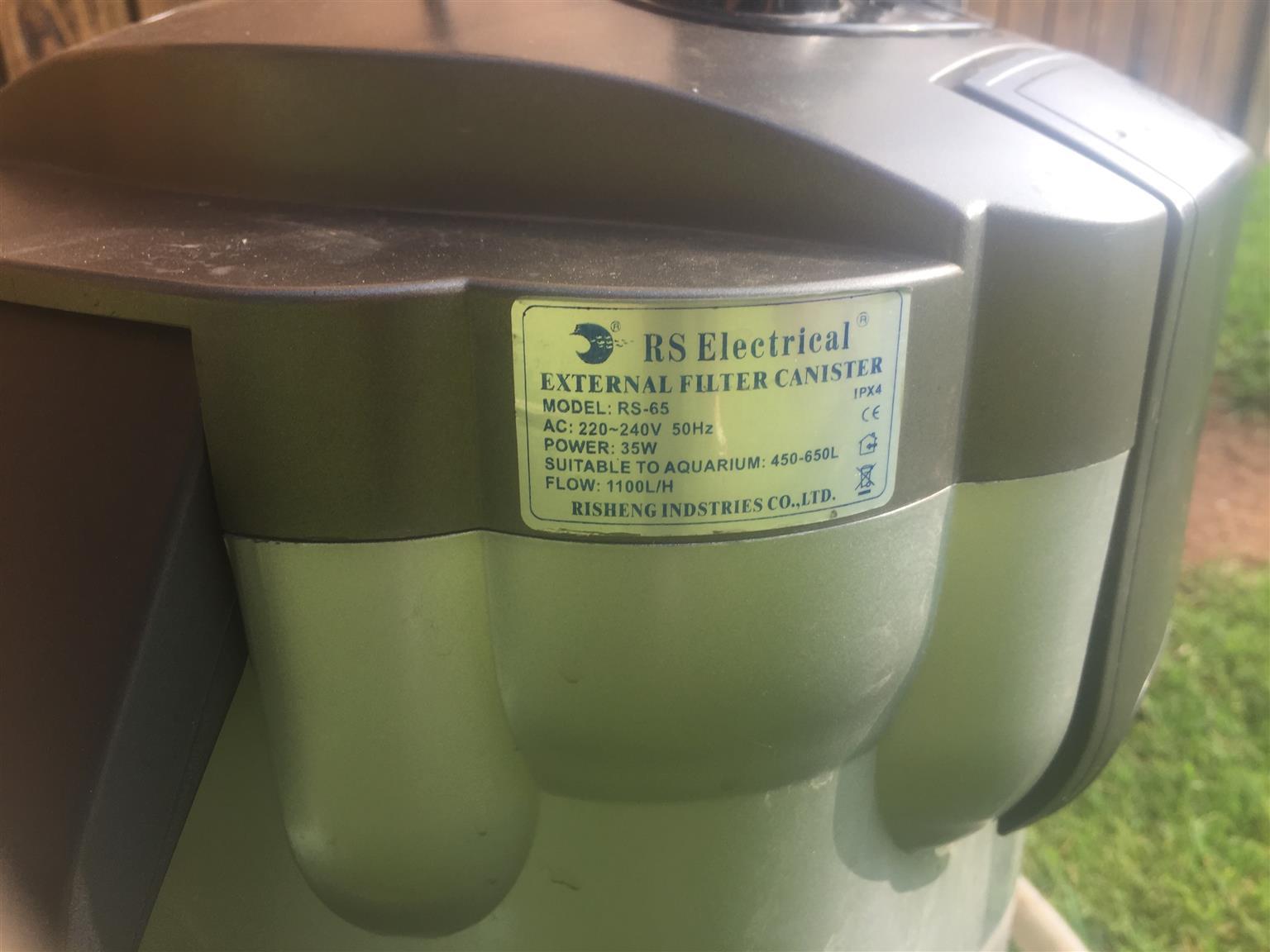 Fish tank : Electrical External Filter