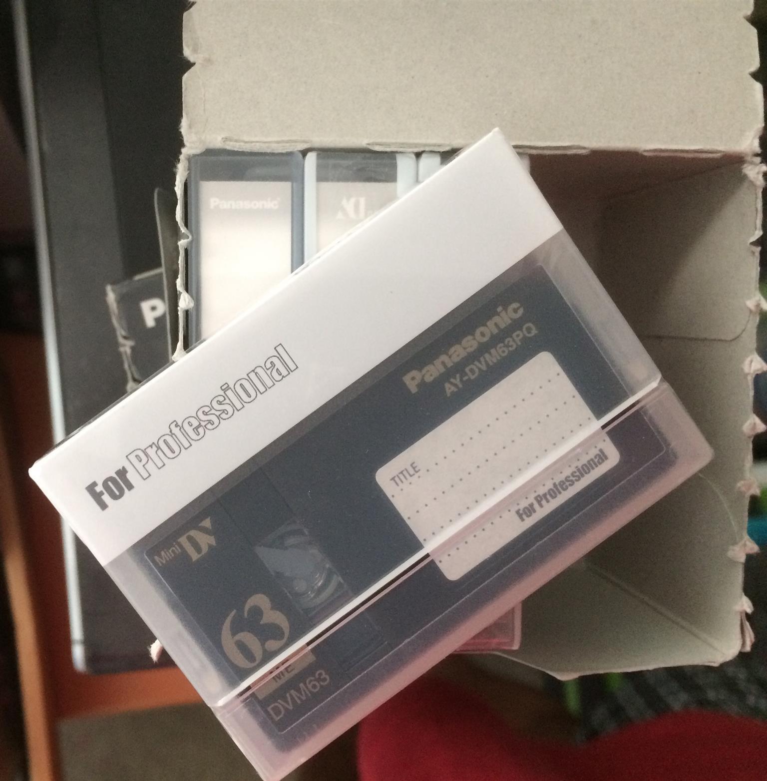 Panasonic DV Cassettes