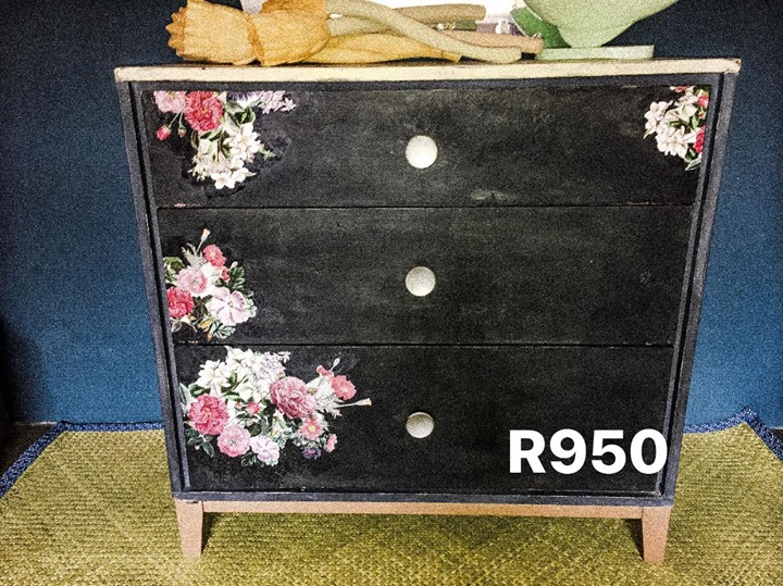 Black chest of drawers for sale
