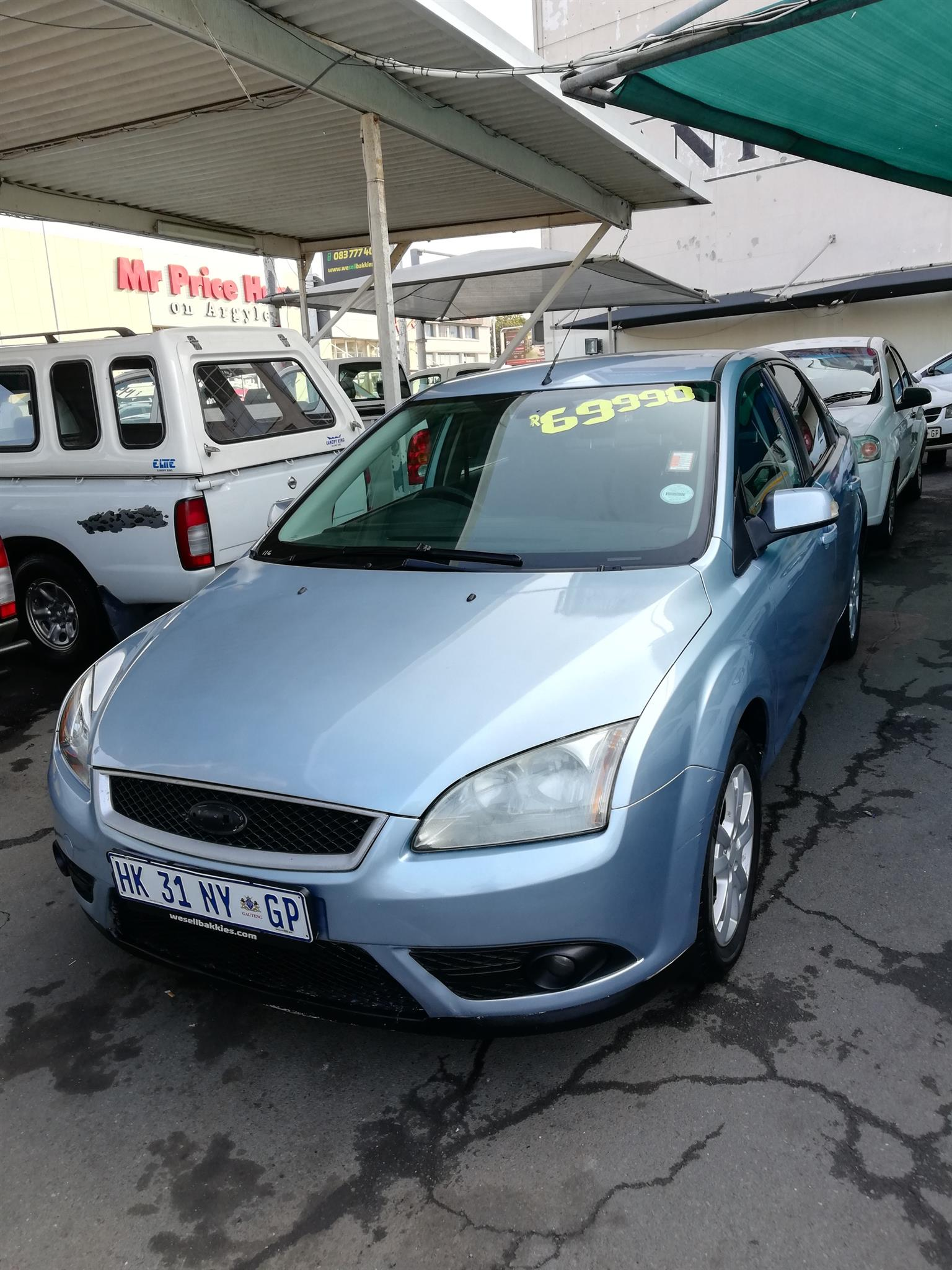 2007 ford focus 2 0 sedan trend