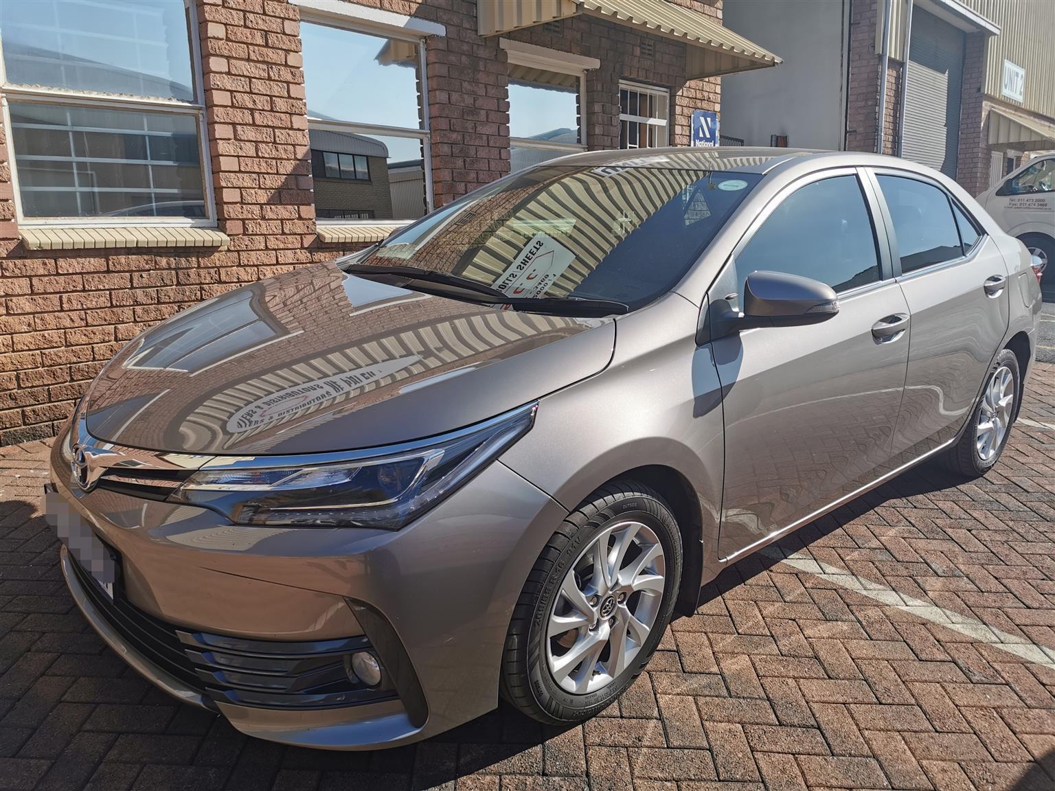 2019 Toyota Corolla 1.8 Exclusive automatic