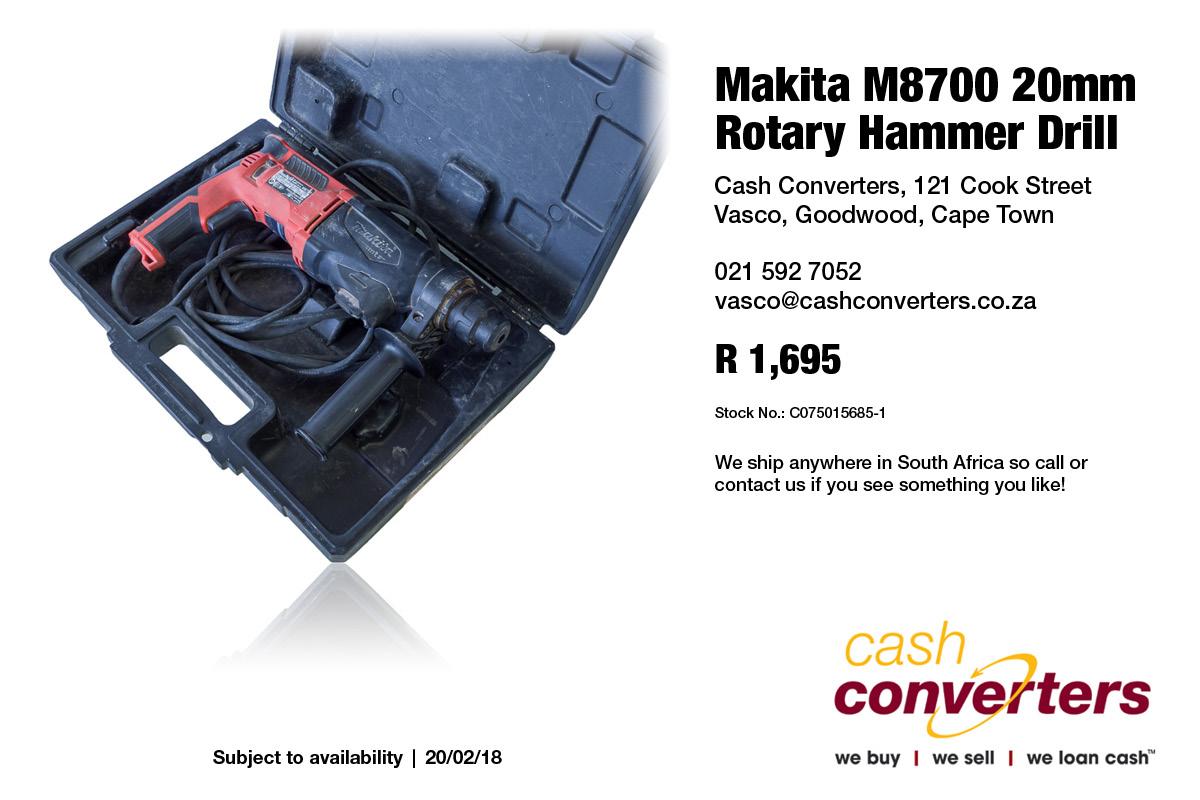Makita M8700 20mm Rotary Hammer Drill