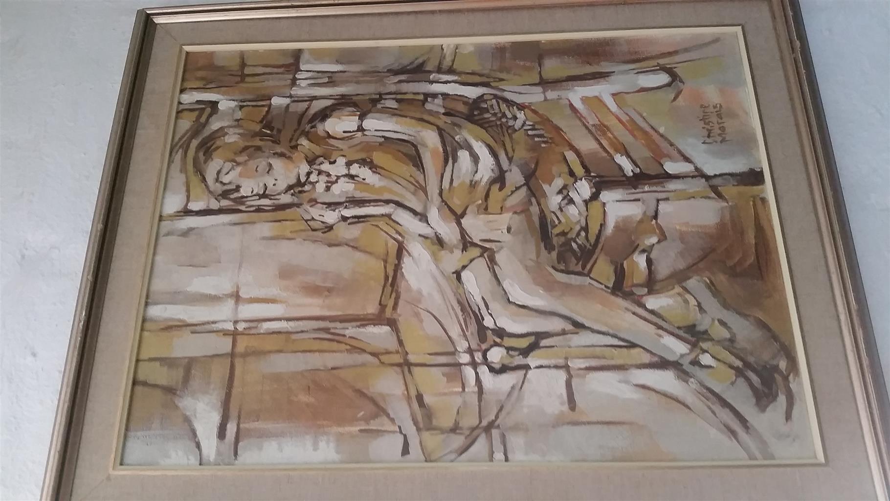Christine Marais Painting