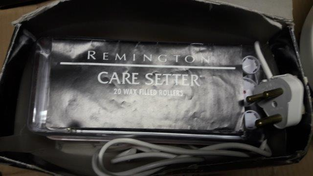 Remington Care Setter wax filled rollers
