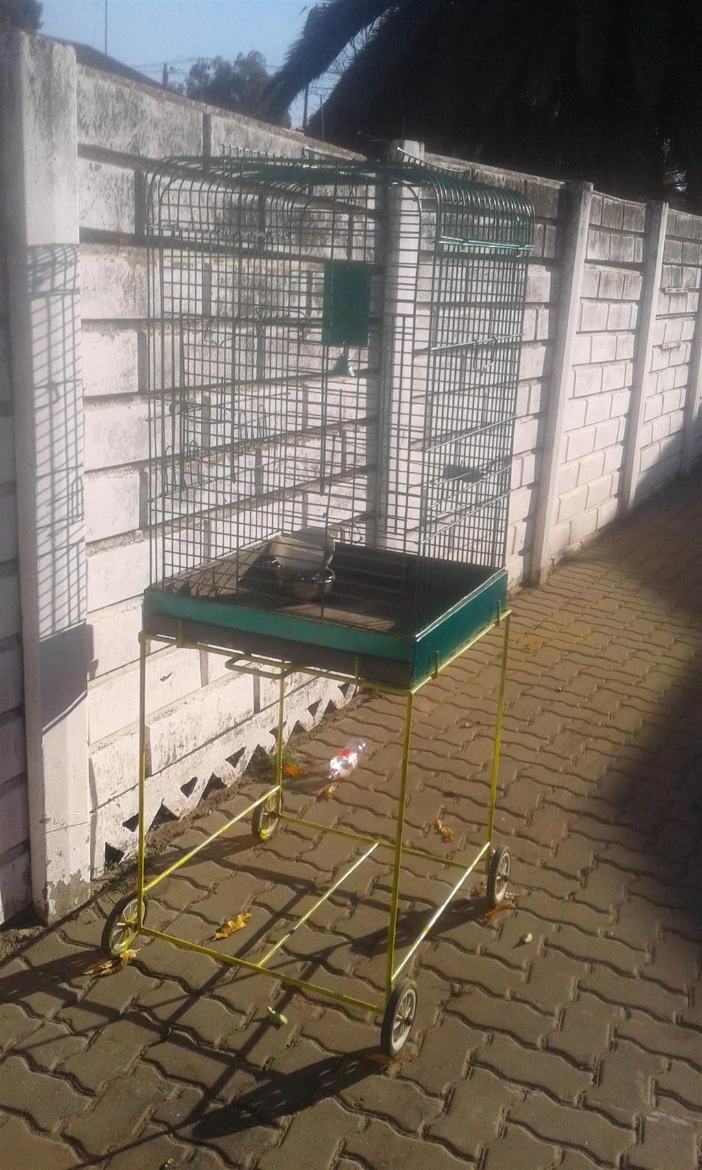 Large bird cage for sale. To collect in Centurion