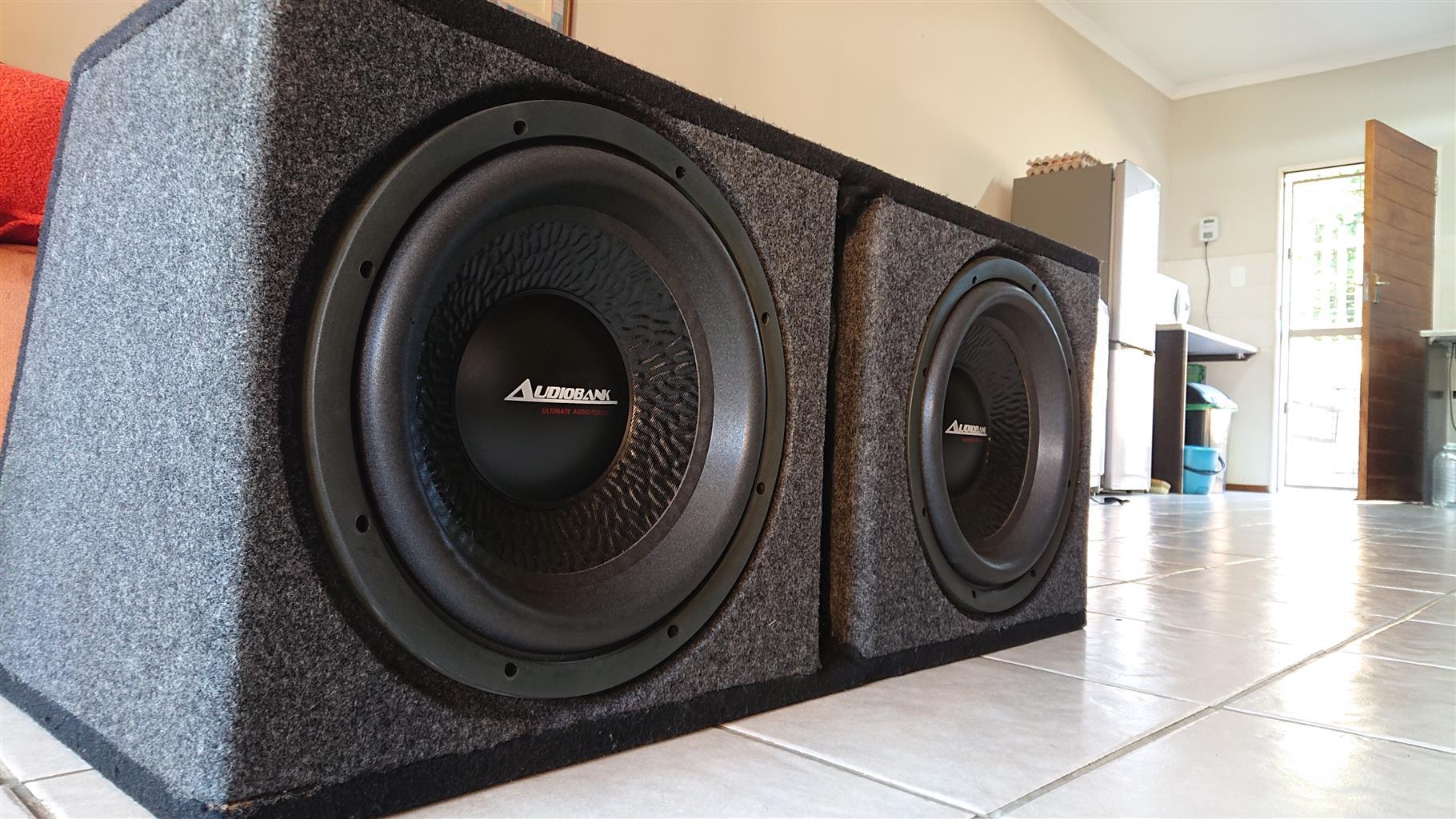 12 Audiobank Subwoofers