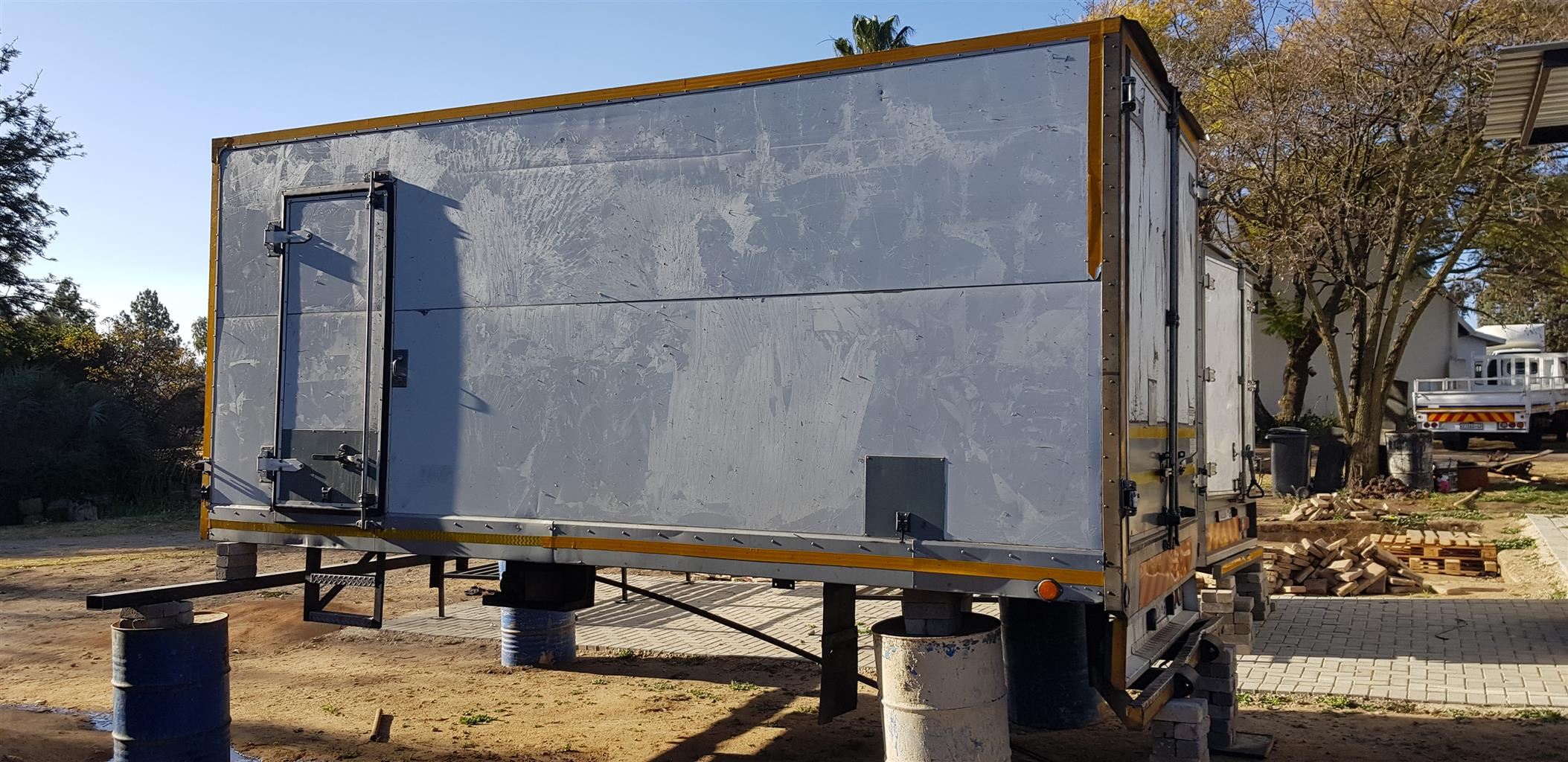 5 ton Insulated truck body