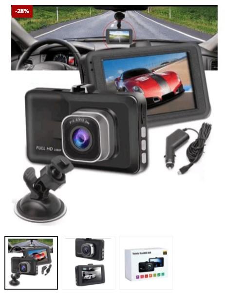 Mini Dash Camera + Free 32GB