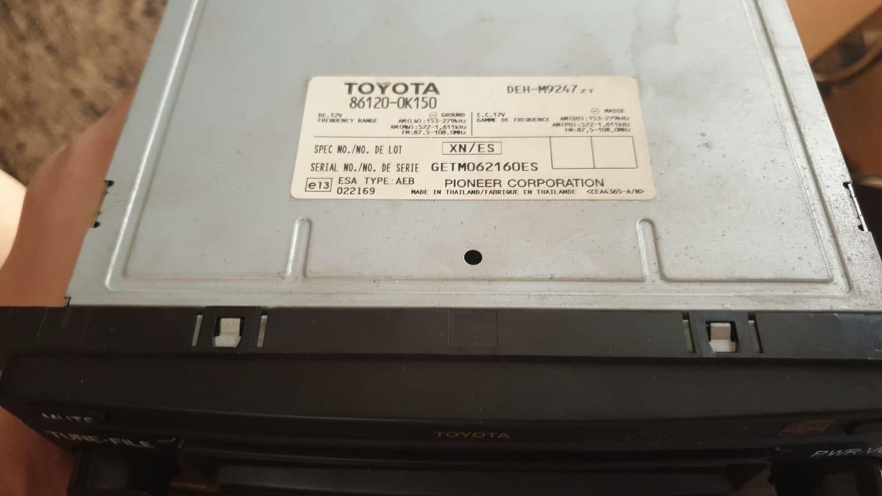 Toyota Car Radio