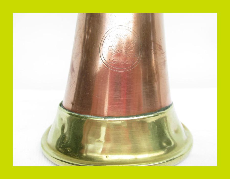 Antique Copper and Brass Bugle - SKU 1240