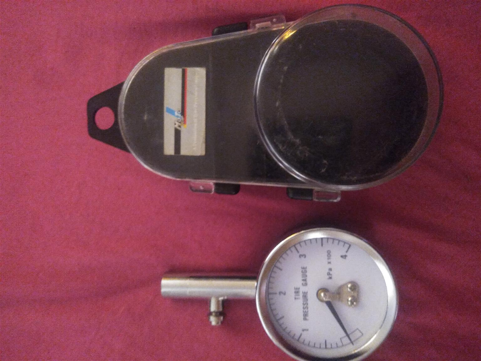 Tyre pressure gauge Motoquip